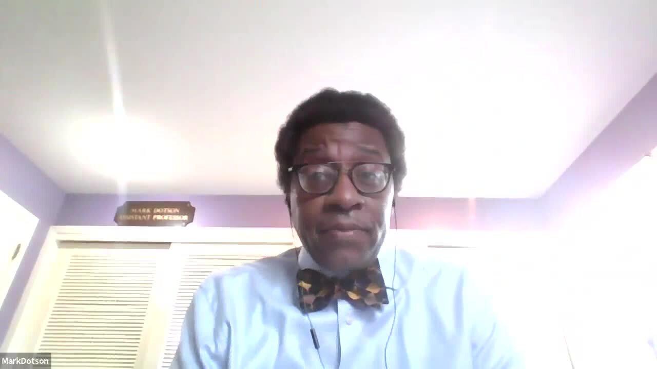 Professor Mark Dotson, WMU Cooley Law School