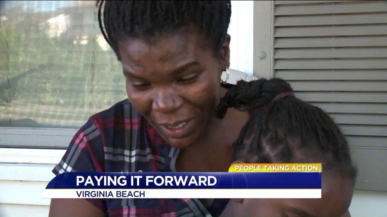 People Taking Action: Good Samaritan gift keeps ongiving!