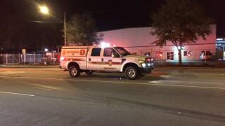 Fire in the 1700 block of Atlantic Avenue