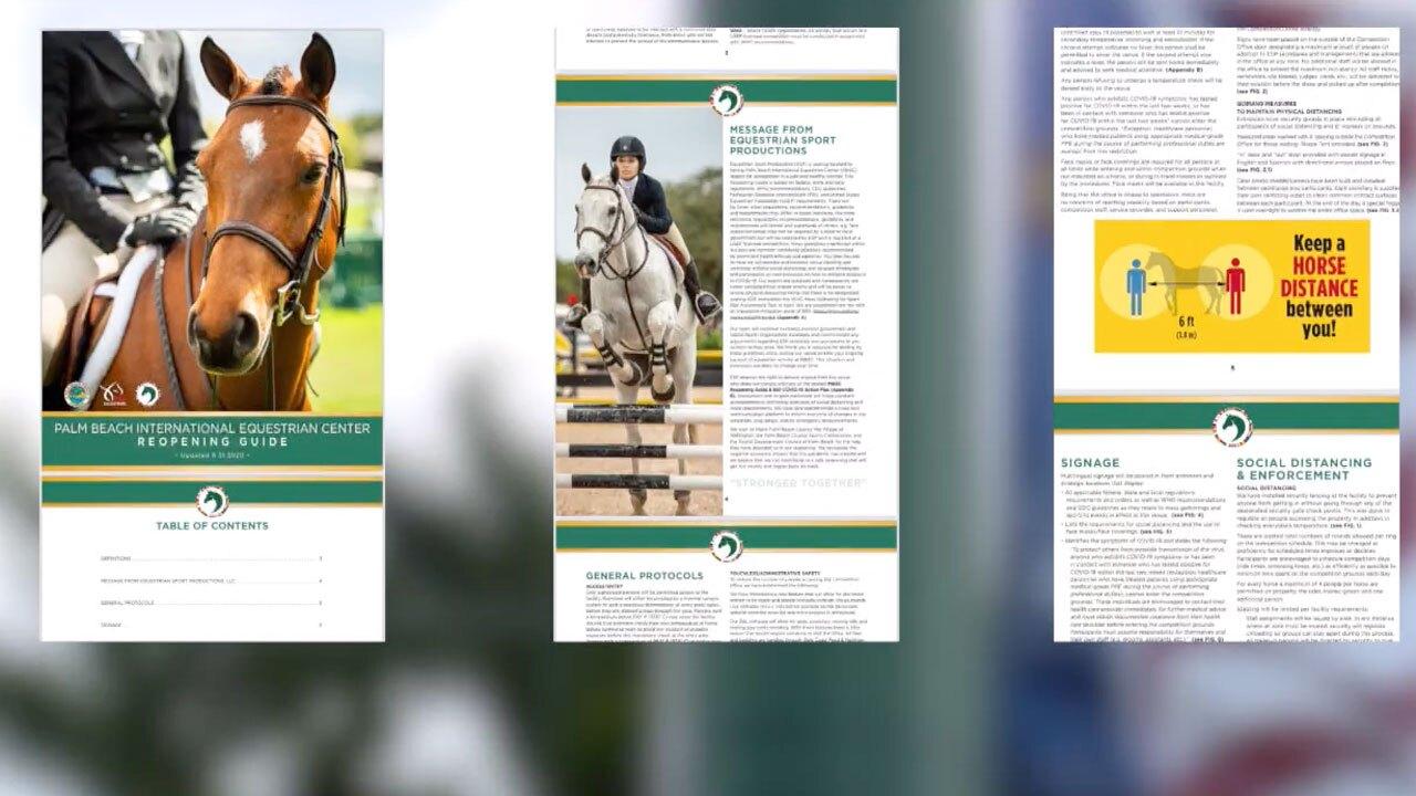 40-page equestrian plan