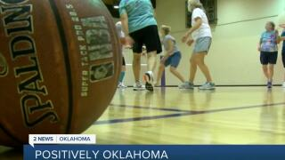 Seniors Learning How to Play Basketball During Retirement Years