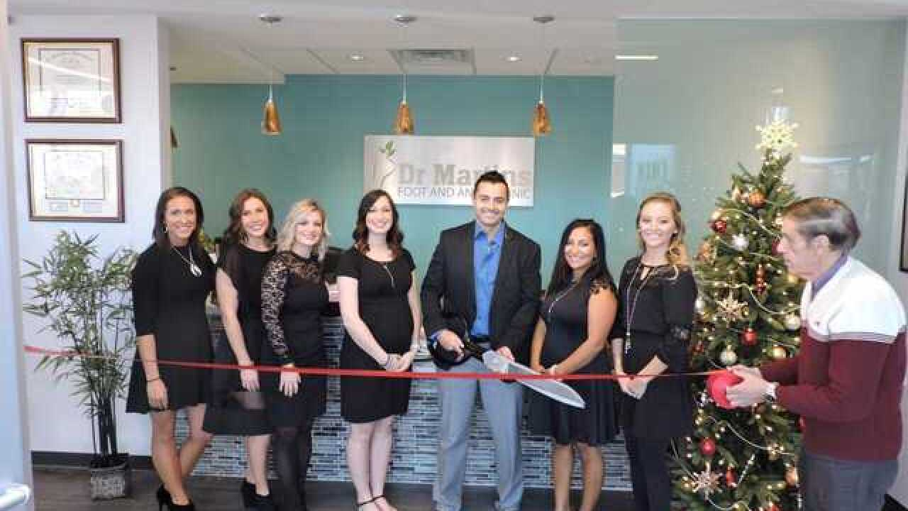 Foot and ankle clinic celebrates new location