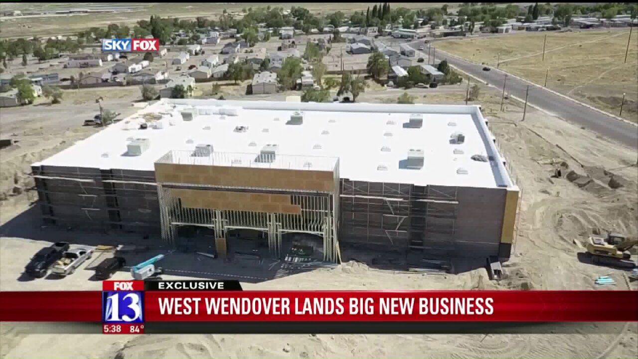 A massive new liquor store is opening in WestWendover