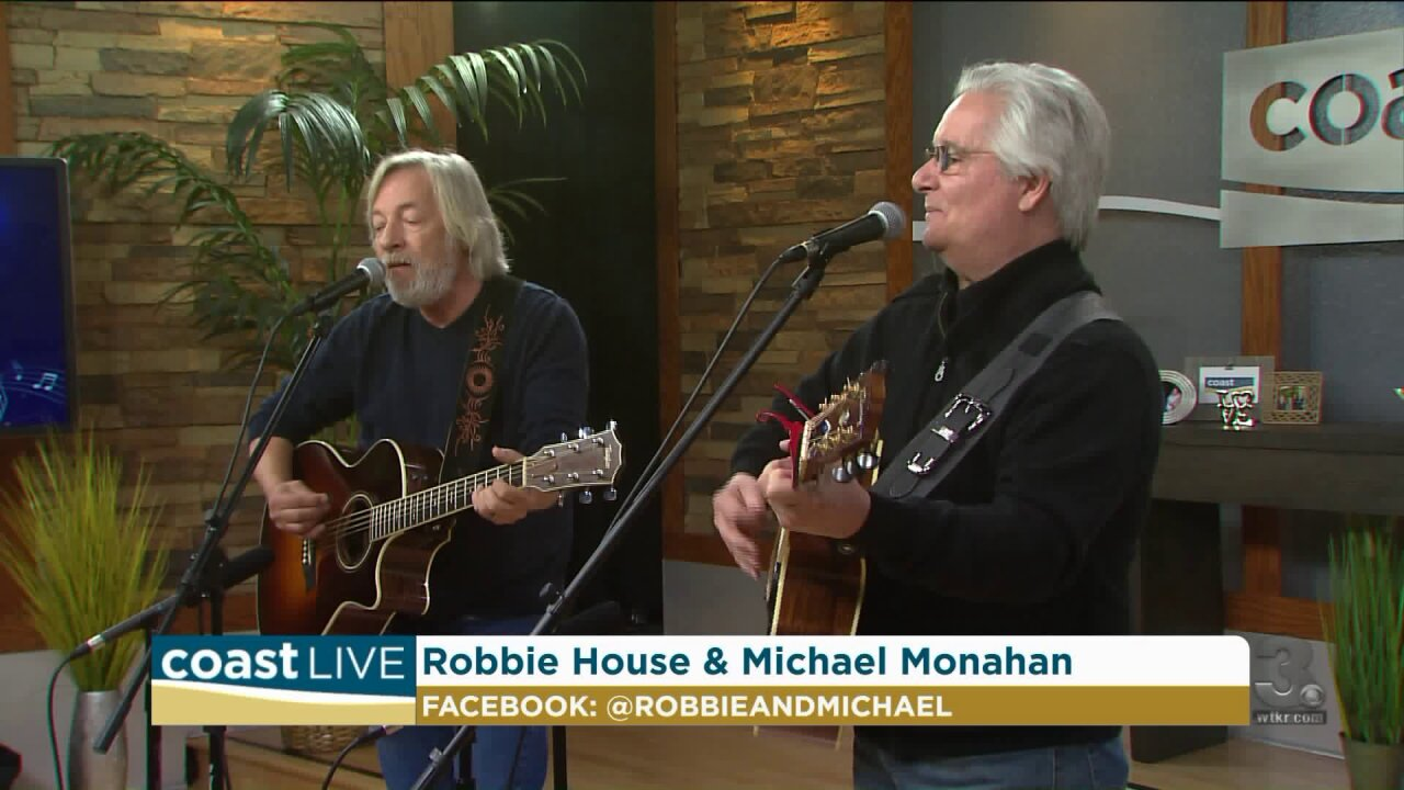 Local music spotlight with Monahan and House on Coast Live