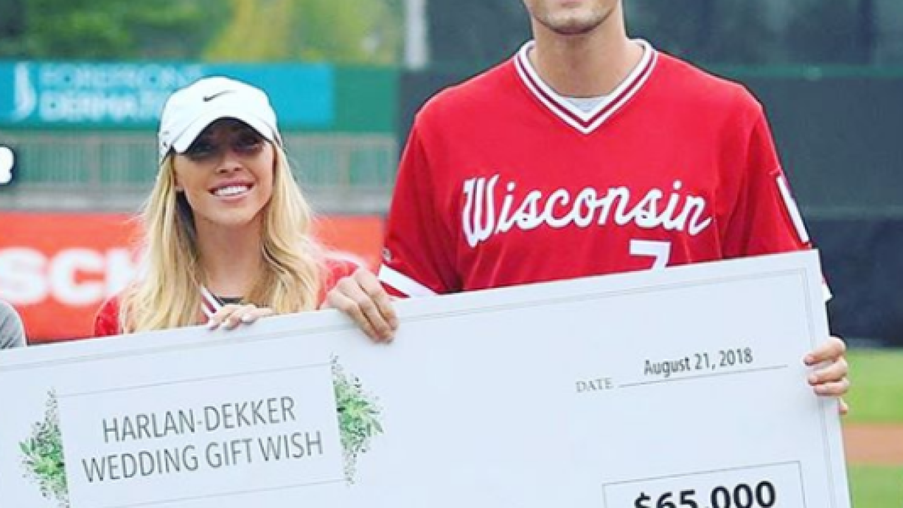 Sam Dekker And Olivia Harlan Raise  For Childrens Cancer Foundation