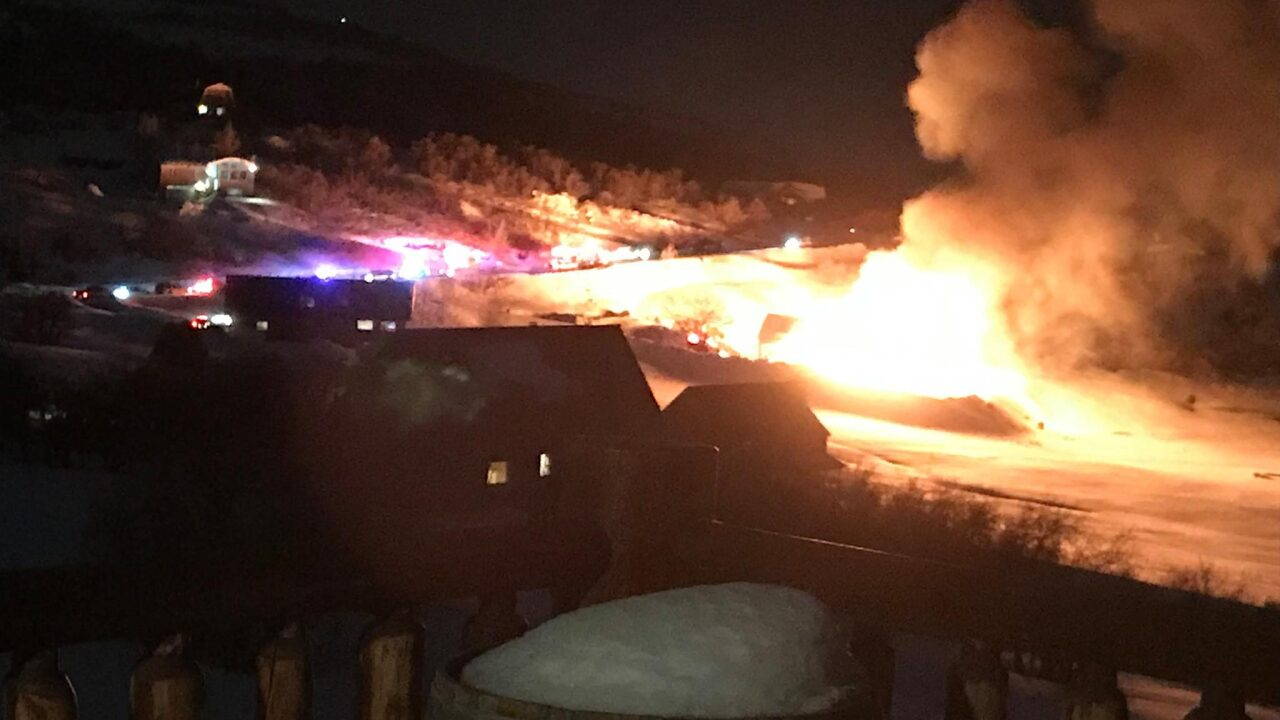Woman injured in Wasatch County cabin explosion