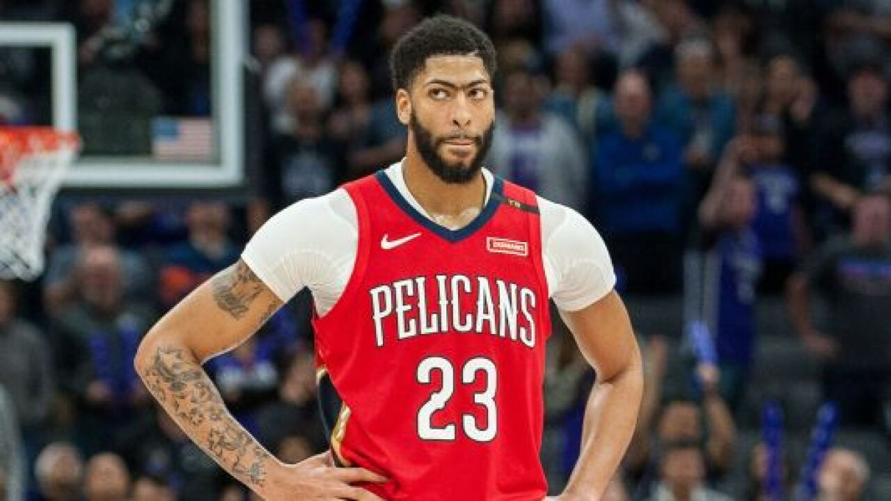Anthony Davis Remains Member Of Pelicans For Now