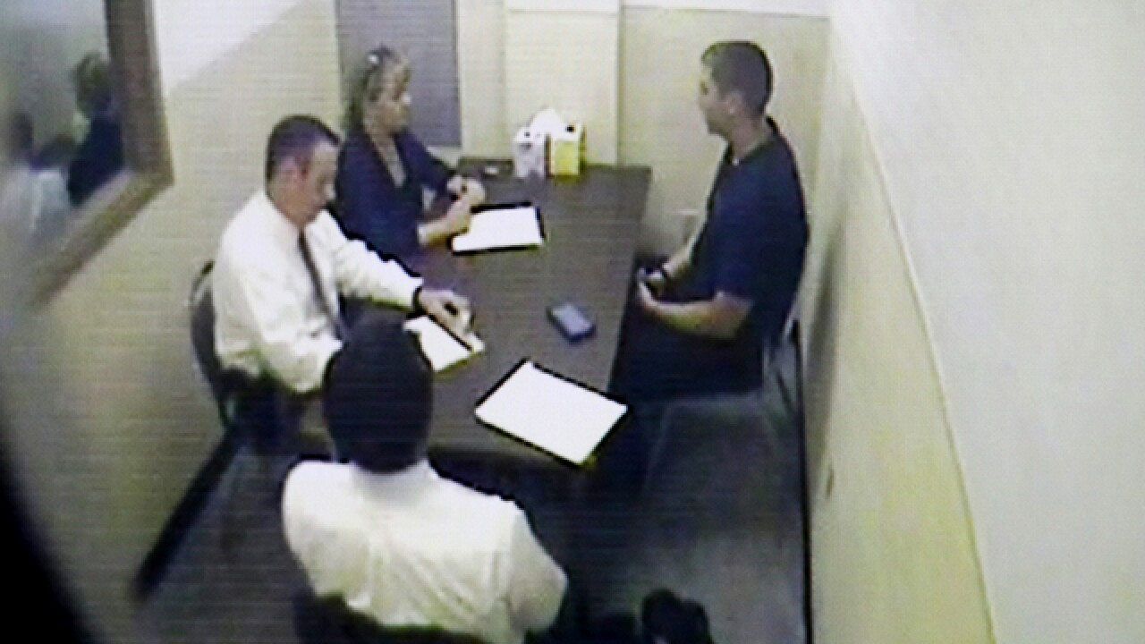 WATCH: Police interview Tensing after shooting