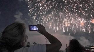 Riverfest firework show bigger, louder'