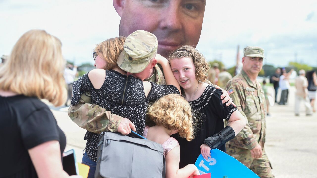 III Corps return home after Middle East deployment