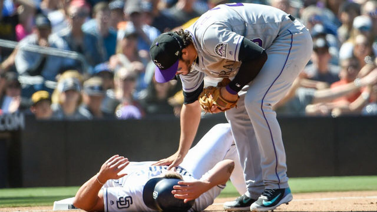 Rockies rally in 9th to beat Padres, take 3 of 4 games