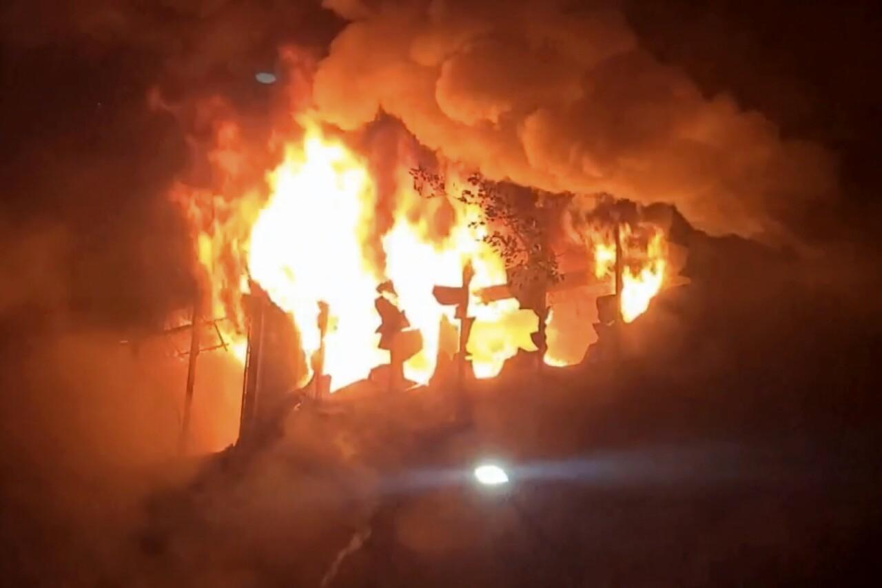 Taiwan Fire