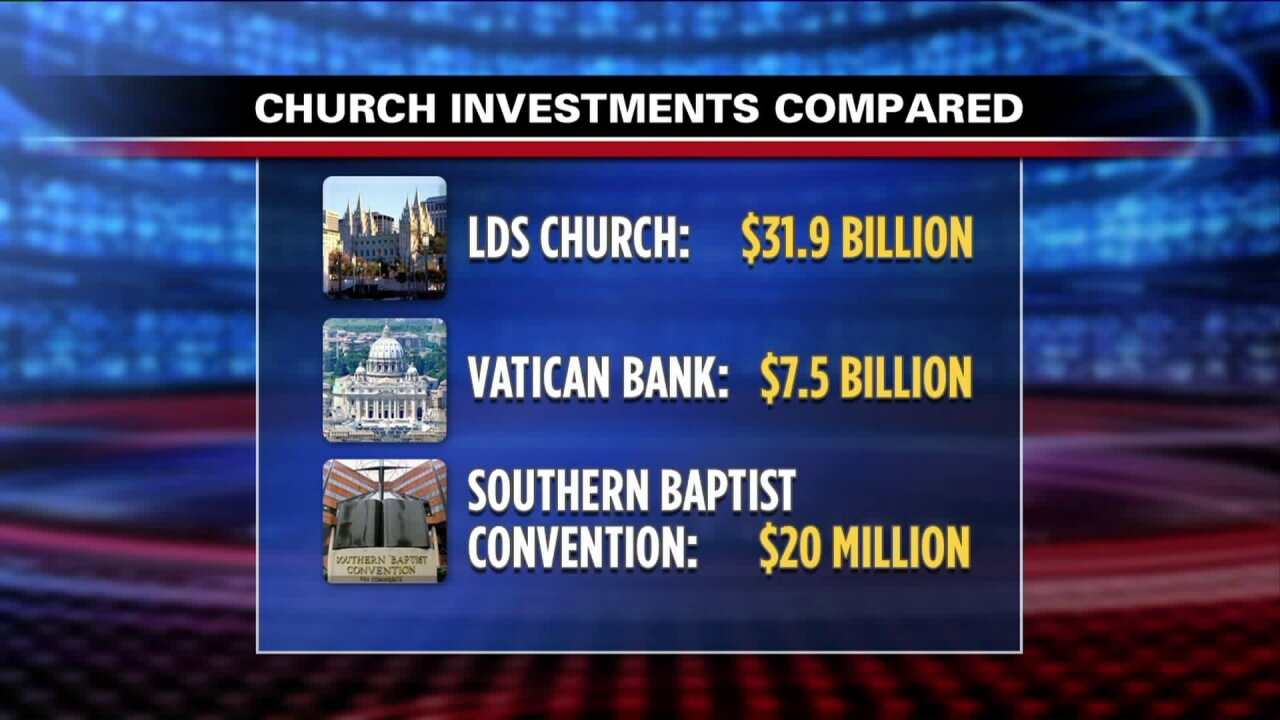 MormonLeaks: LDS Church controls billions of dollars in investment funds