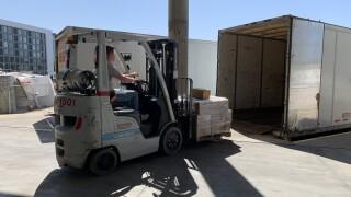 COVID-19 shipments