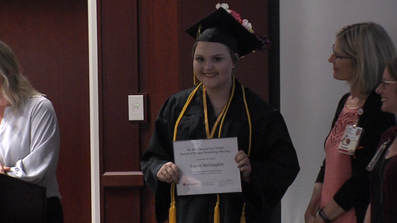 Riley patient graduates high school.PNG