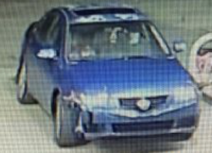 Police say this car was taken following a Feb. 24 home invasion in Odenton