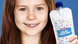 Kraft introduces 'Salad Frosting' for kids