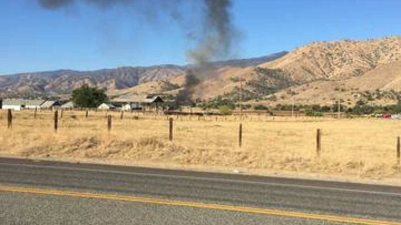 Plane crashes at Kernville Airport