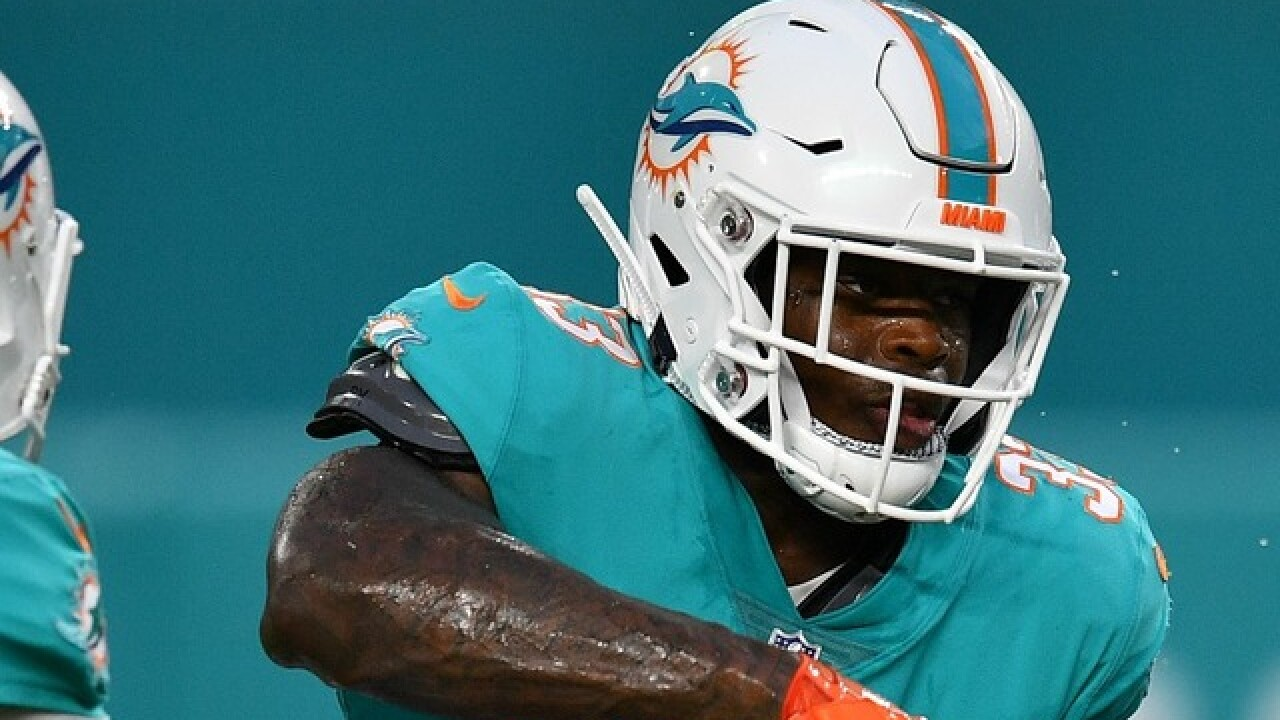 Dolphins QB kicks ex-ASU running back Kalen Ballage out of huddle