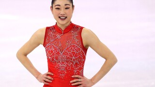 Mirai Nagasu leaps into history with Olympic triple axel
