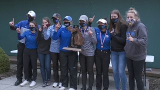 Montague girls golf wins Division 3 state championship