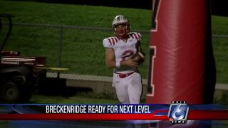 Chip on his shoulder, Brad Breckenridge is ready to prove himself at the next level
