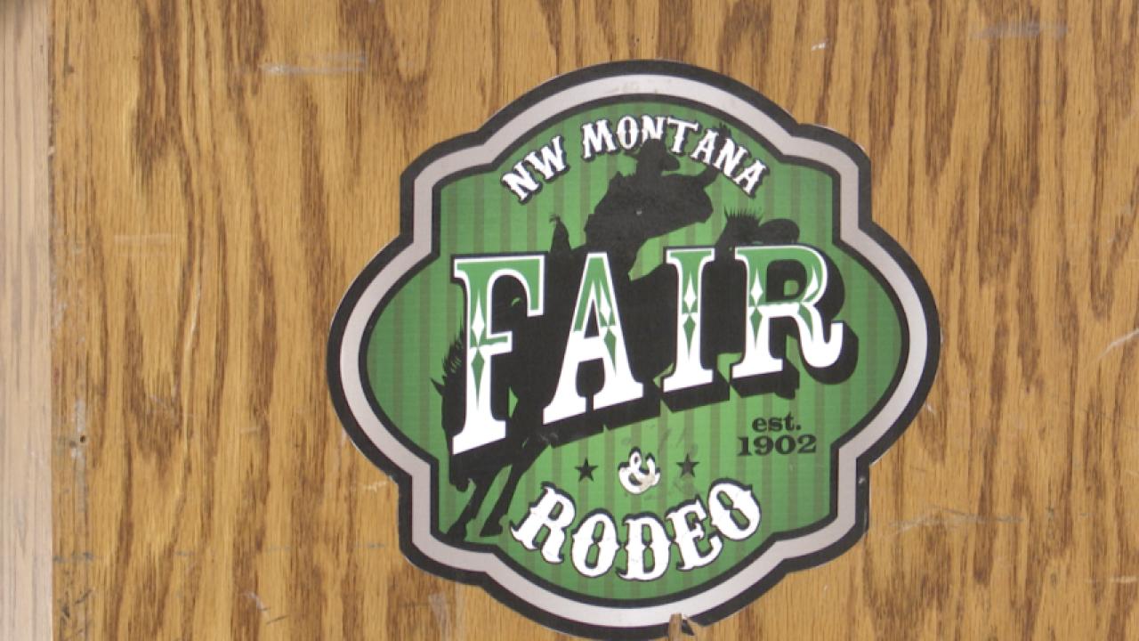 Northwest Montana Fair Logo