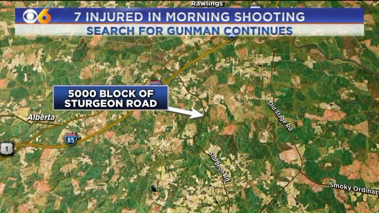 7 injured in Lawrencevilleshooting