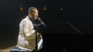 John Legend dedicates Billboard performance to wife Chrissy Teigen after pregnancy loss