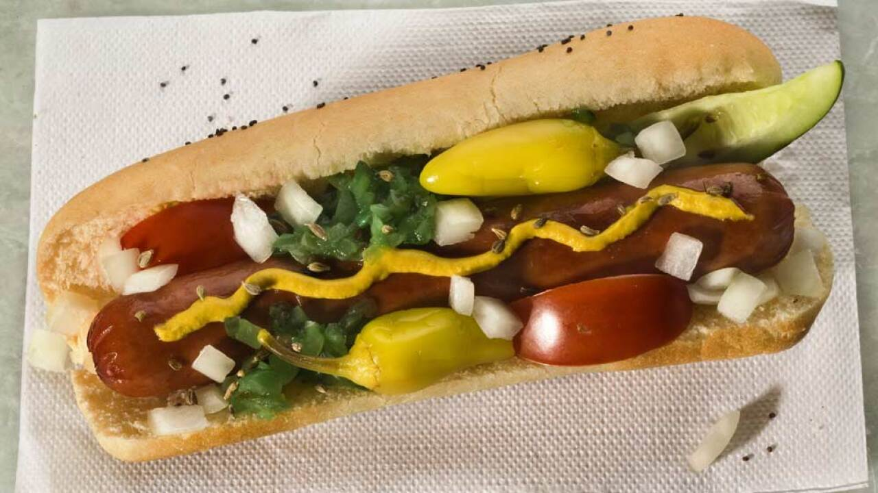 More than 2,000 pounds of Vienna Beef hot dogs have been recalled because they may contain metal fragments, the US Department of Agriculture's Food Safety and Inspection Service said.