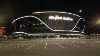 Allegiant Stadium reached 'substantial completion' on July 31, 2020