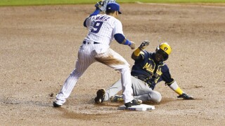 Brewers Cubs Baseball