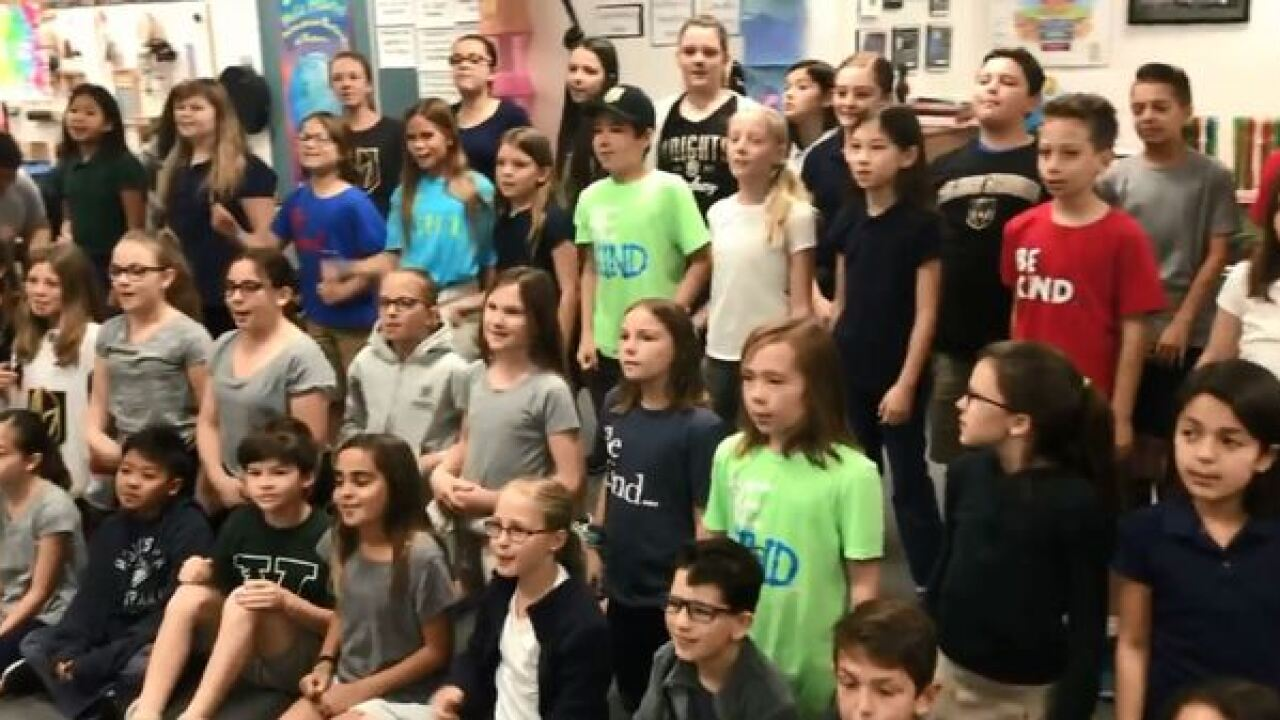 Henderson music class wins #KnightUp contest
