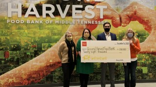 second harvest donation