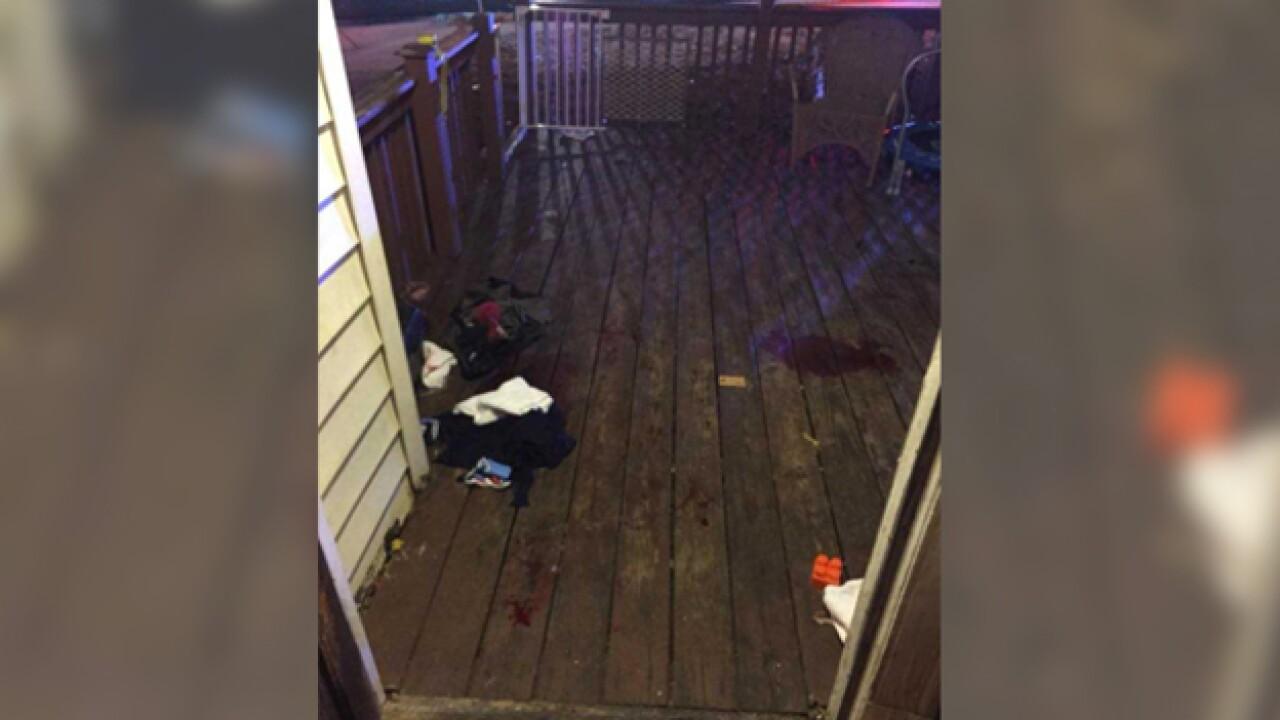 Gunshot Victim Found On Resident's Front Porch