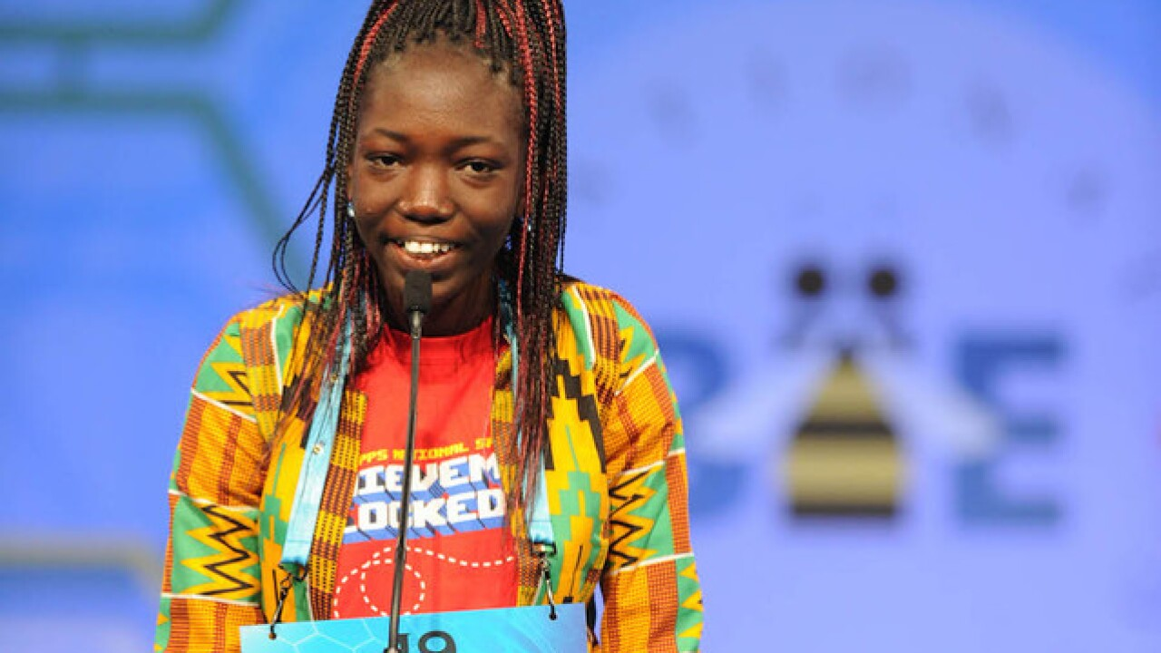 Ghana teen beats the odds at Spelling Bee