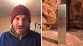 Photographer says he saw group demolish the mysterious monolith in Utah
