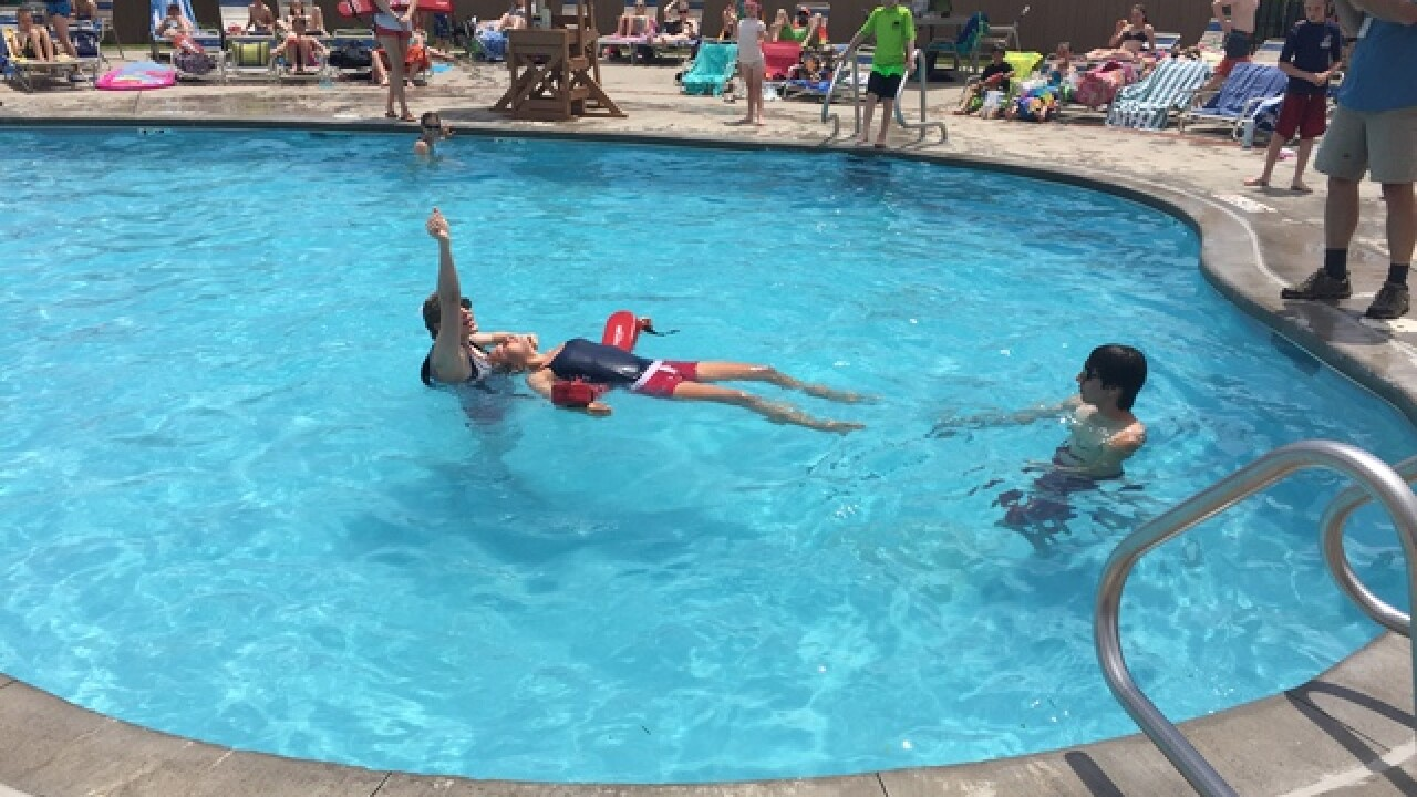 LIfeguards call on parents to help watch kids