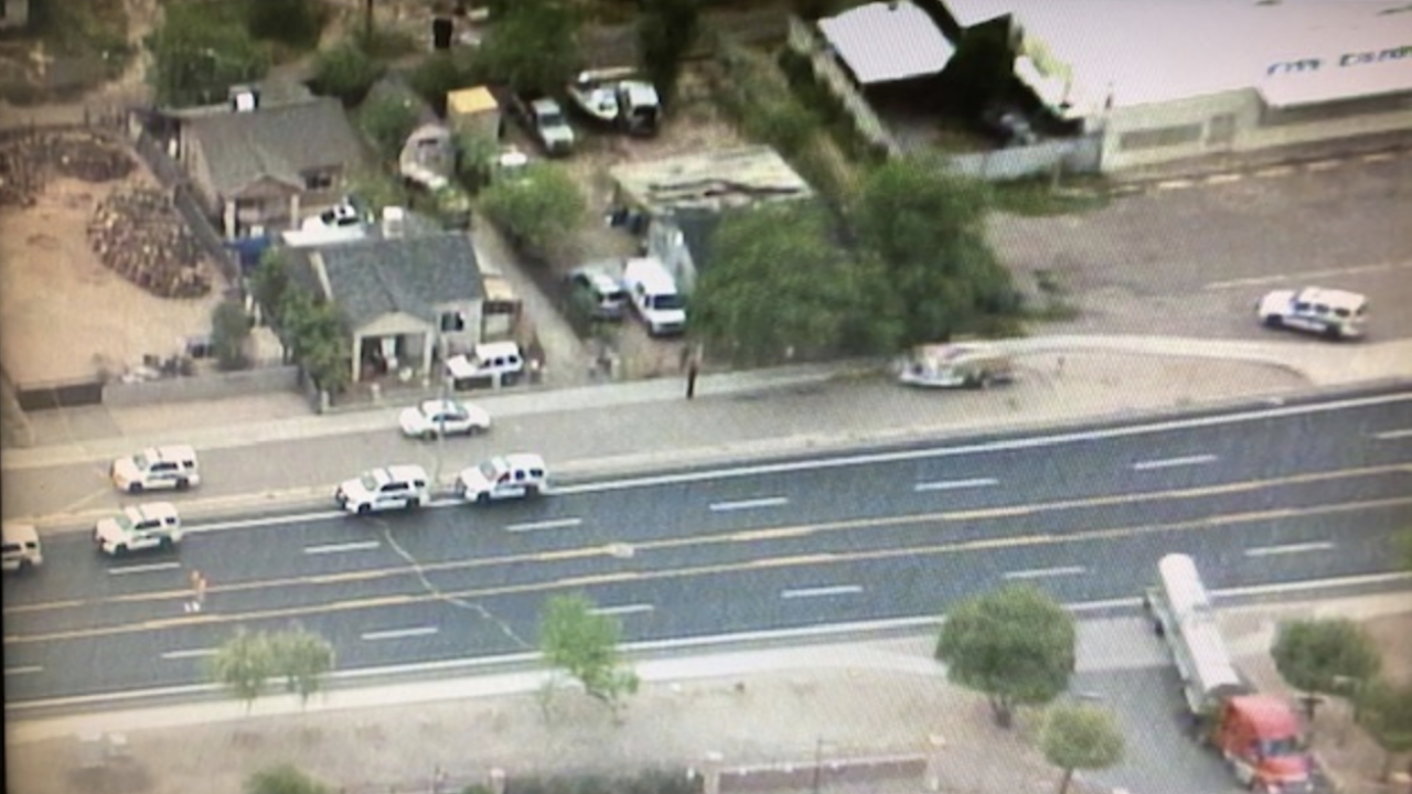 35th Avenue and Roeser shooting