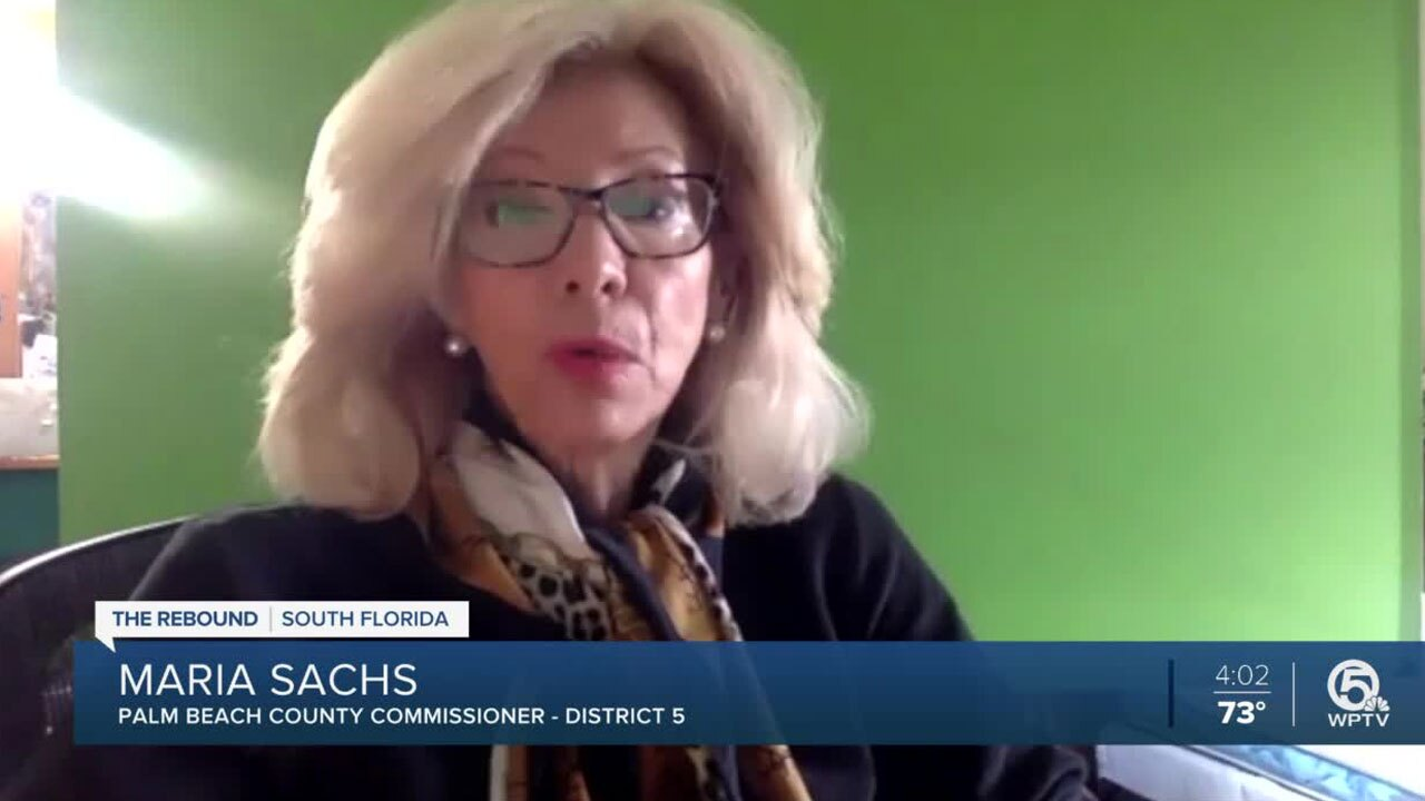 Palm Beach County commissioner Maria Sachs