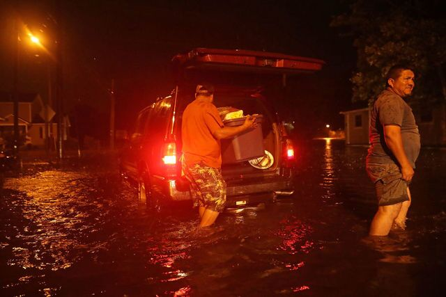 Photos: Flood waters rise in North Carolina ahead of Florence
