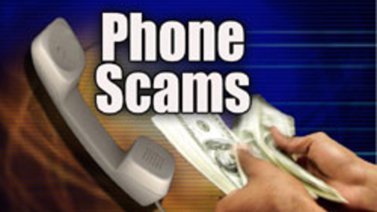 Twist on a common phone scam