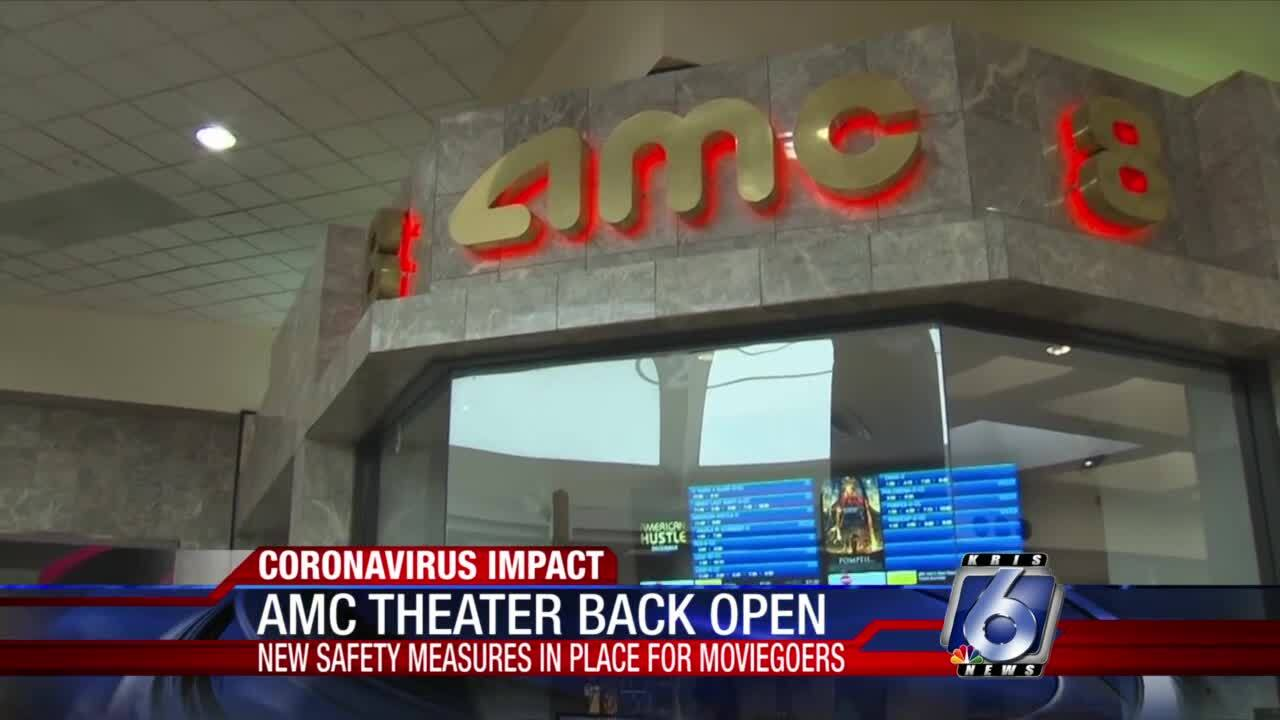 AMC Theatre reopens this week at 30 percent capacity