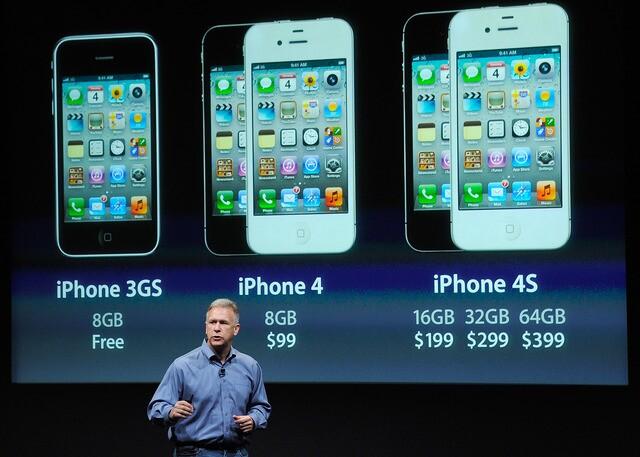 Photos: Apple's iPhone through the years