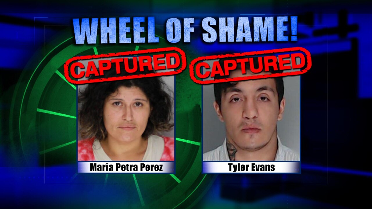 Wheel of Shame Fugitives Arrested