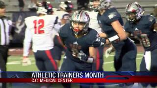 National Athletic Trainers Month celebrates the hard work of those who keep our athletes healthy