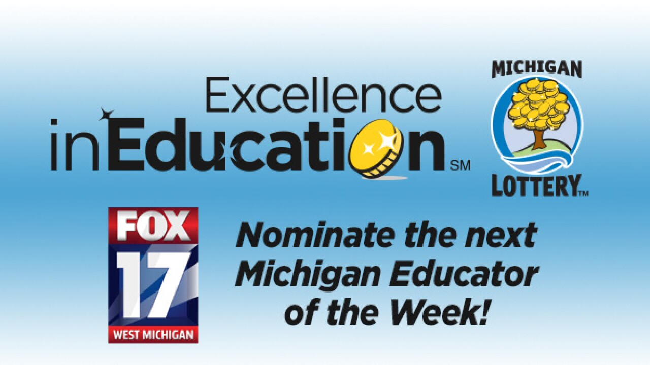 Excellence in Education Award Nominations