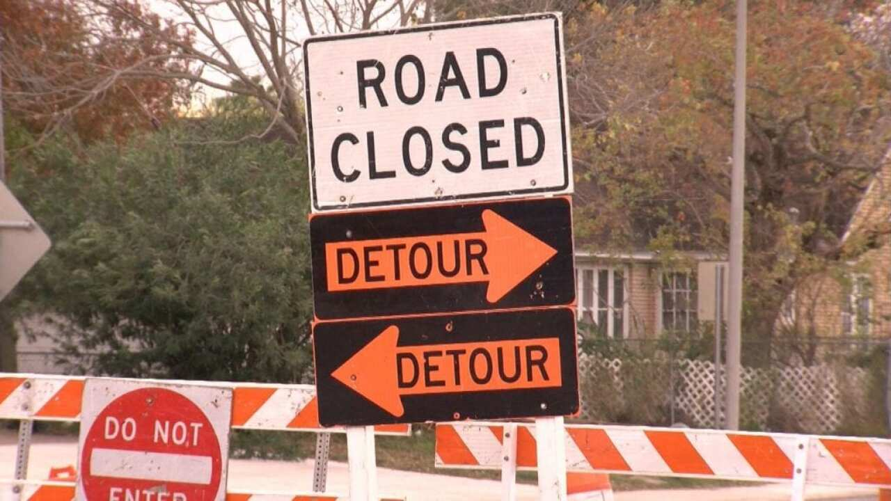 Ennis Joslin/Holly Road intersection will be closed