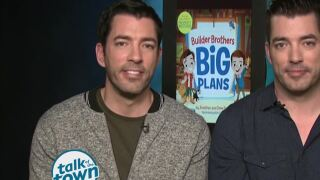 The Property Brothers Tackle Their First Picture Book