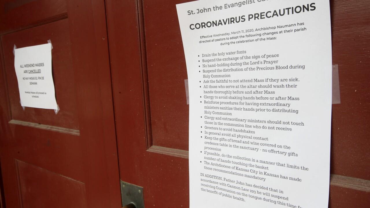 Virus Outbreak Worship Services